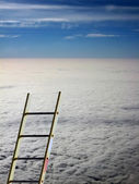 Reaching to the top — Stock Photo