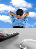 Exceso de trabajo ejecutivo — Foto de Stock