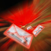 Electronic mail — Stock Photo