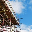 Scaffolding tower — Stock Photo