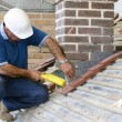 Trainee roofer — Stock Photo #2494359