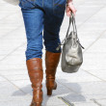 Female shopper — Stock Photo