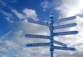 Worldwide travel destinations — Stock Photo