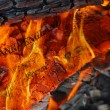Currency in flames — Stock Photo #2503340