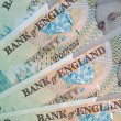 English Pound Notes — Stock Photo
