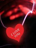 Valentine plasma abstract — Stock Photo