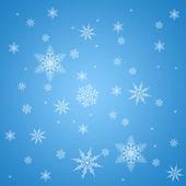 Snowflake pattern — Stock Photo