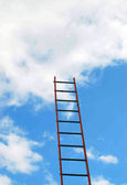 Builders ladder — Stock Photo