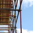 Scaffolding tower - Foto Stock