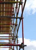 Torre de andamios — Foto de Stock