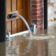 Stock Photo: Flood water
