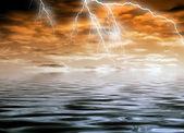 暴风雨的天气 — 图库照片