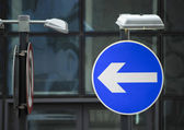 Road traffic sign — Stock Photo