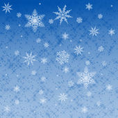 Star and snowflake pattern — Stock Photo