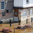 River Ouse floods — Stock Photo #2577825