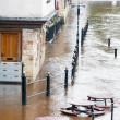 Stock Photo: River Ouse flood