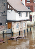 York floods — Stock Photo