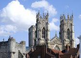 York Minster view — Stock Photo