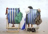 Holiday makers — Stock Photo