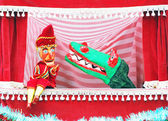 Punch and Judy show — Stock Photo