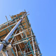Scaffold tower — Stockfoto