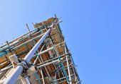 Scaffold tower — Stock Photo