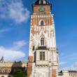 Town Hall Tower in Cracow — Stock Photo