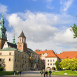 The Wawel Royal Castle in Cracow — Stock Photo