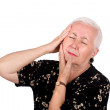 Senior Lady with Toothache — Stock Photo
