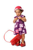 Fashion Baby Girl Posing — Stock Photo