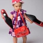 Baby Girl Fashion — Stock Photo