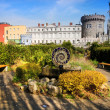 Dublin Castle Garden — Stock Photo