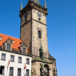 Stock Photo: Prague Old City Hall Clock Tower