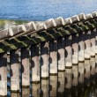 Breakwater Abstract - Stock Photo