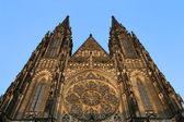 St Vitus Gothic Cathedral in Prague — Stock Photo