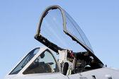 Jet Fighter Cockpit — Stock Photo
