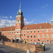 Royal Castle in Warsaw, Poland — Stock Photo