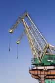 Shipyard Crane — Stock Photo