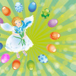 Easter reason with an angel-1 — Stock Photo #2054807