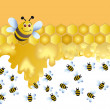 Merry bee — Stock Photo