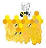 Merry bee — Stock Photo