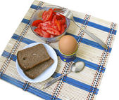 Easy dietary breakfast — Stock Photo