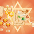 Holiday of Pesakh ( Passover) — Stock Photo