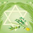 Jewish holiday of Sukkot Holiday — Stock Photo #2431349