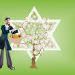 New Year of trees, Seder That bi-Shvat. — Stock Photo #2431381