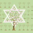 NewYear of trees or TubiShvat — Stock Photo