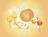 Holiday of of Rosh-hashanah — Stock Photo