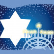 Glad background to Jewish holiday — Stock Photo #2443285