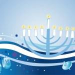 Glad background to holiday Hanukkah — Stock Photo