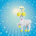 Aries(sign of zodiac) — Stock Photo